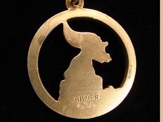 Silver Leprechaun Charm