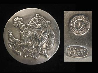Spratling Sterling Pin