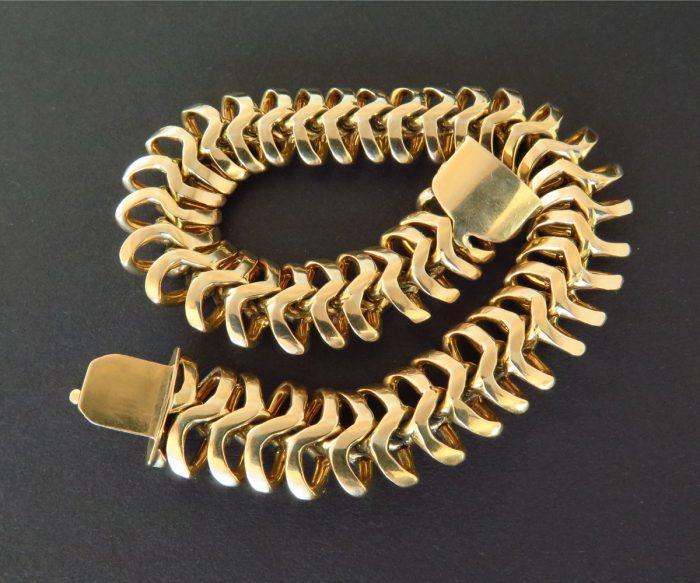 10598B 18K Snake Bracelet