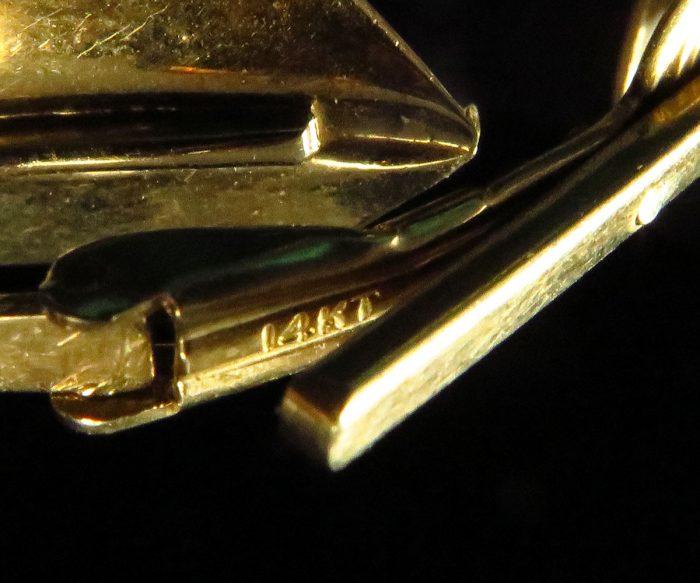 Gold Arrow Cufflinks