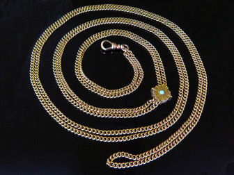 14K Long Slide Chain 30909