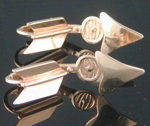 Arrow Gold Cufflinks