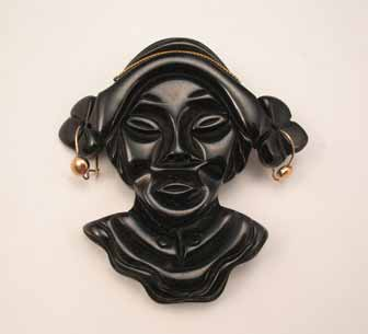 Bakelite Head Pin