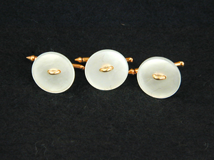 Gold Mother of Pearl Studs