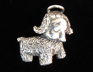 Little Angel Dog Cini Pin