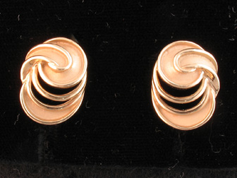 Modern Swirl Earrings