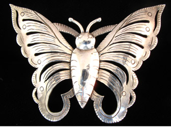 Sterling Butterfly Pin