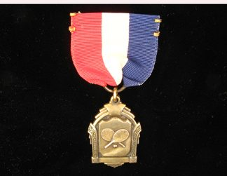 Sterling Ping Pong Medal
