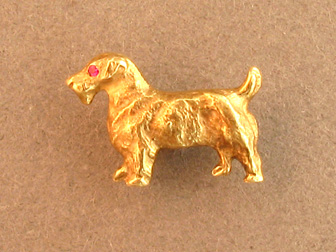Terrier Stickpin