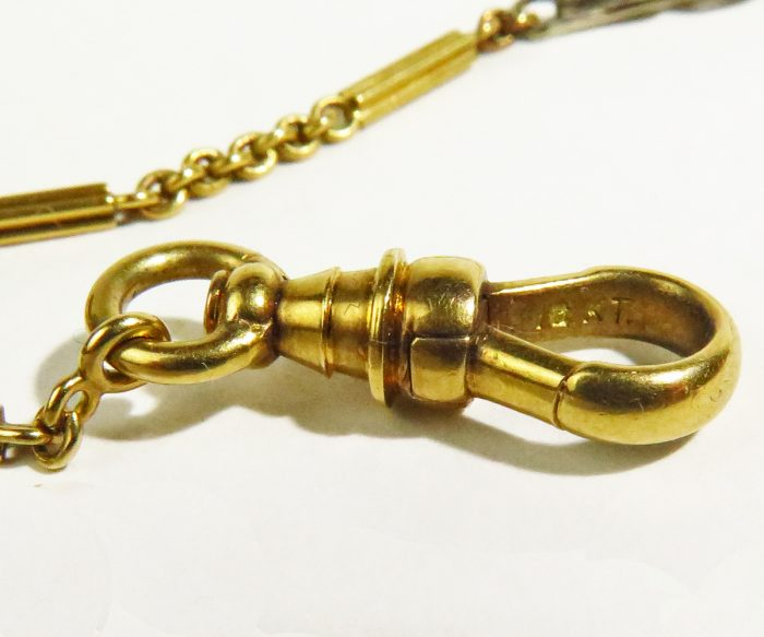 Mixed Gold Fob Chain