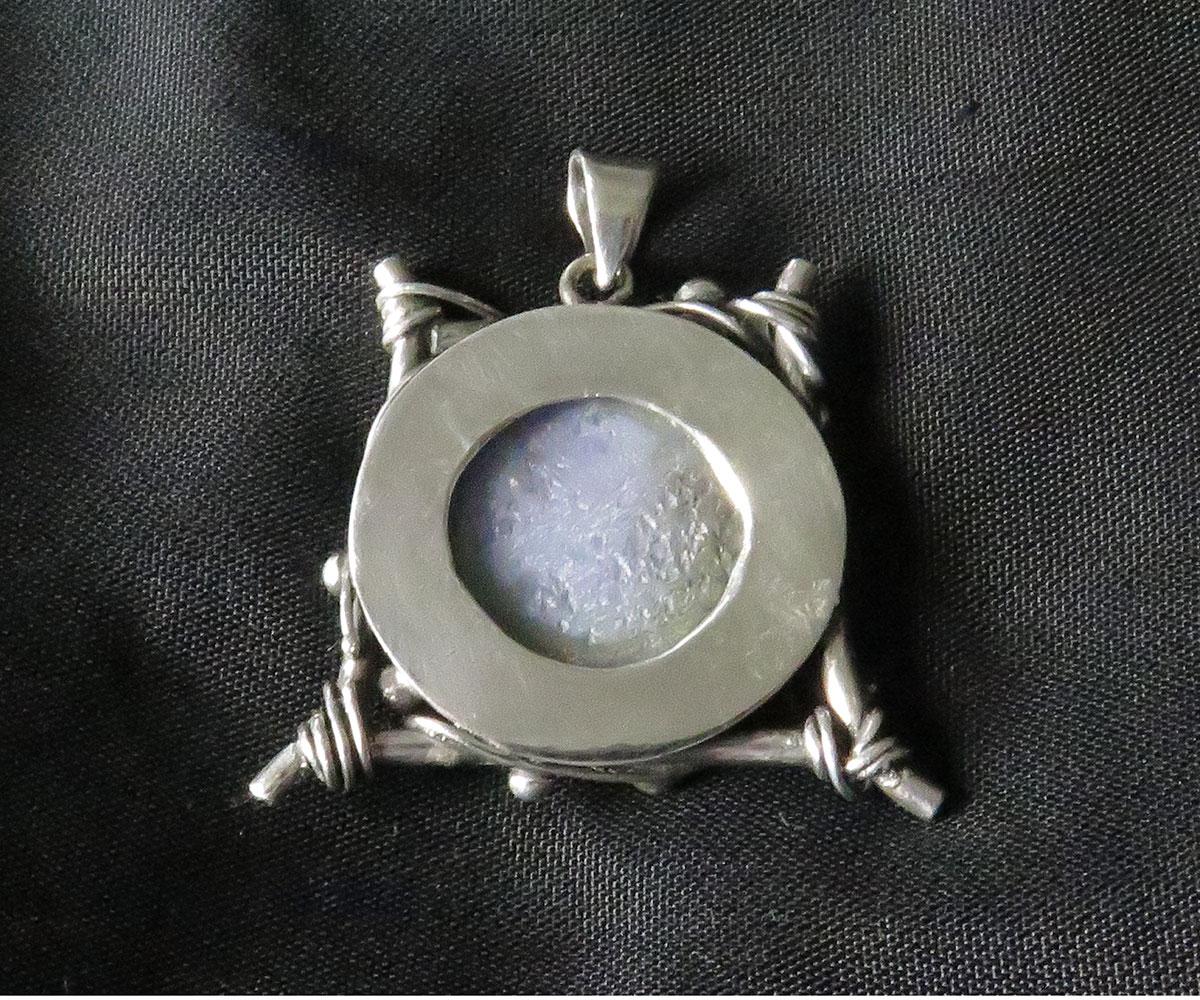 Sterling Chalcedony Pendant