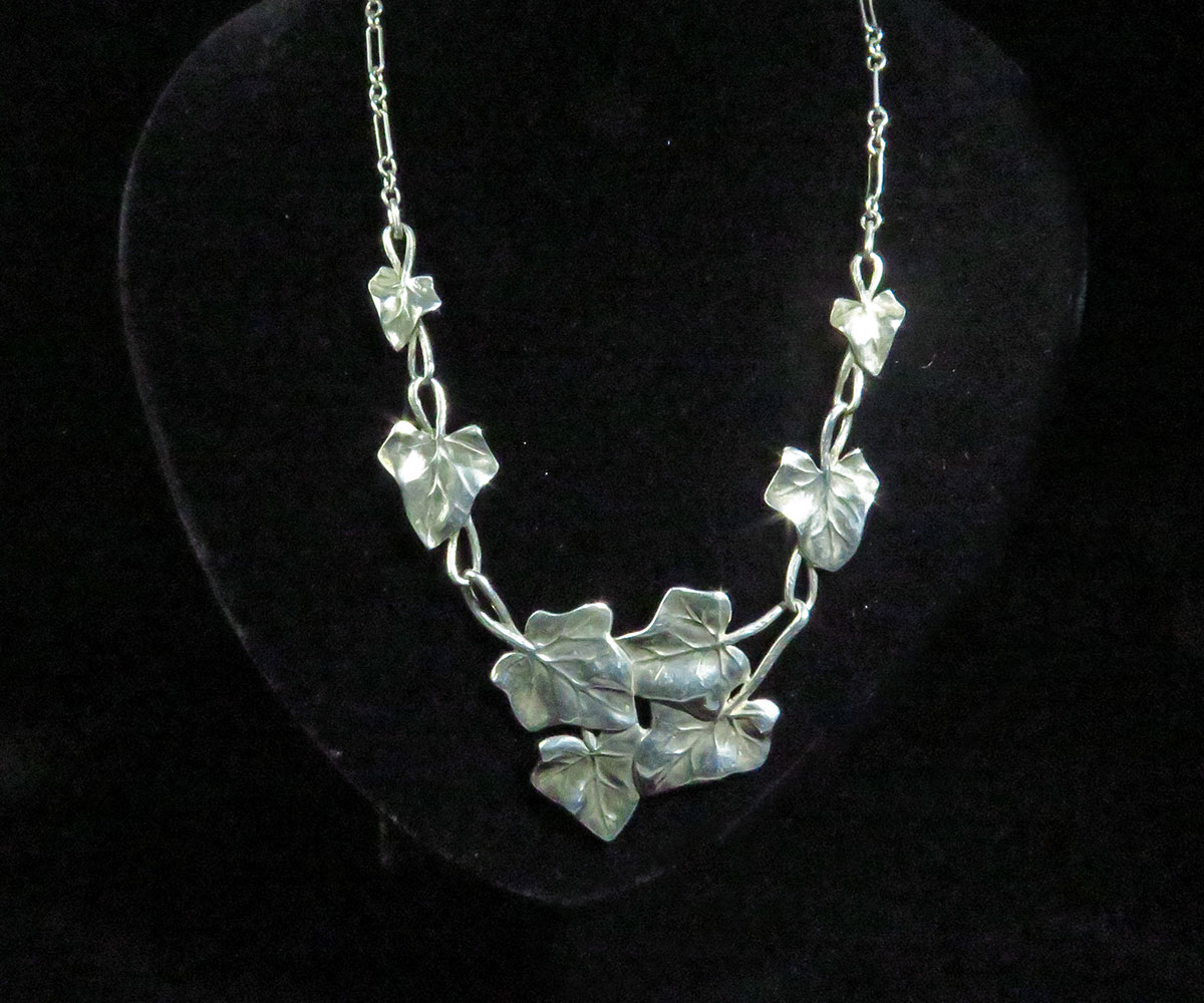 Sterling Ivy Necklace