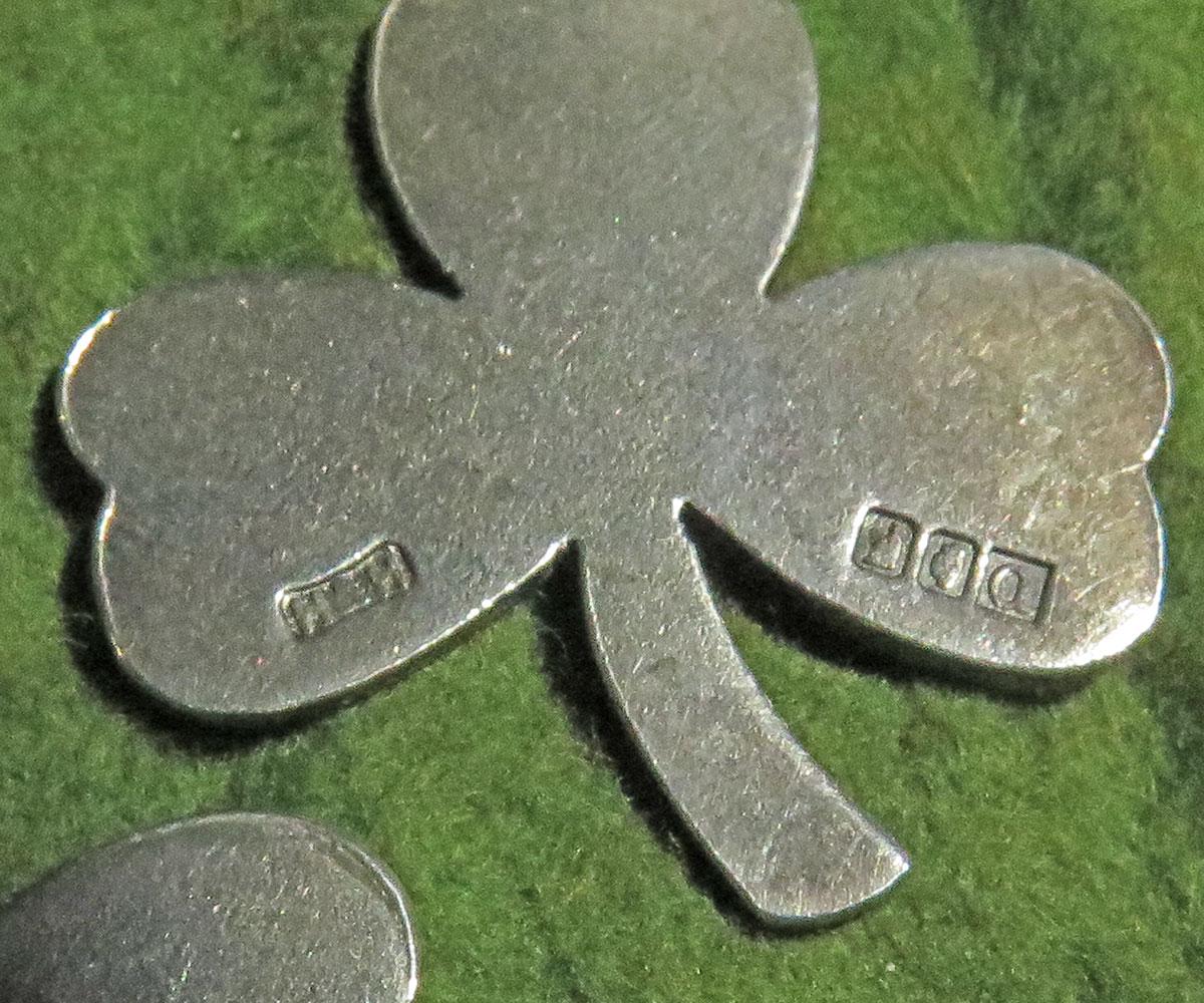 Irish Sterling Shamrocks