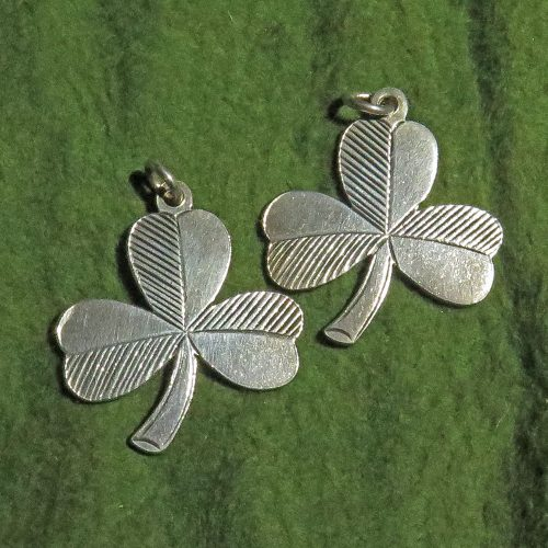 Irish Sterling Shamrocks