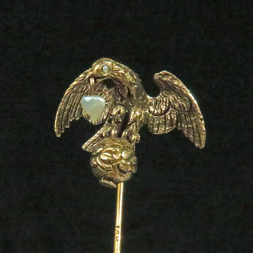 Gold American Eagle Stickpin