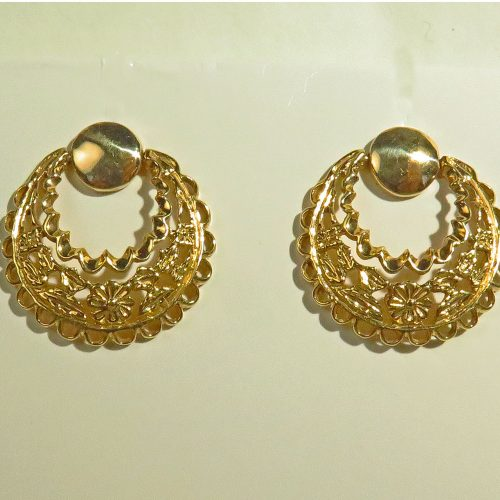 Swinging Gold Earrings