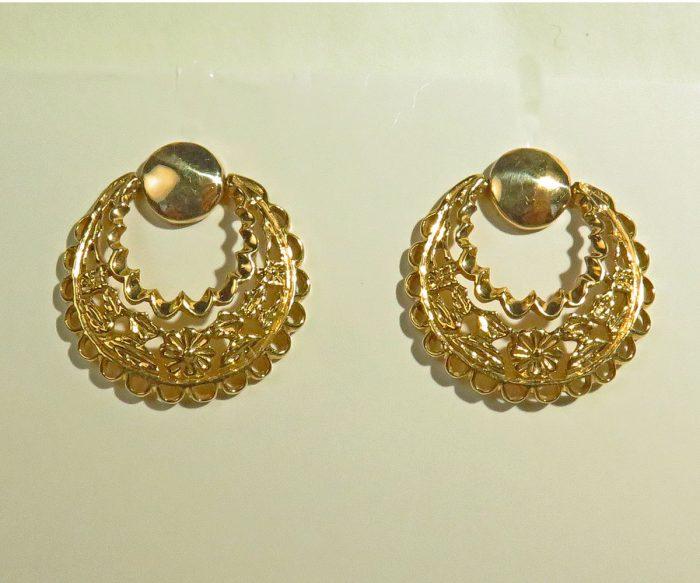 Swinging Gold Earrings