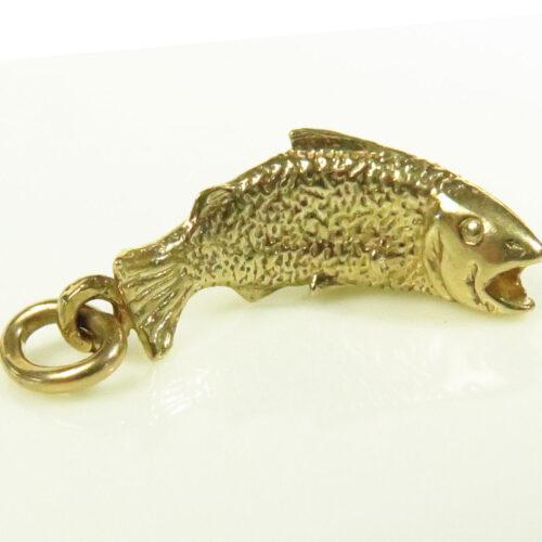 Gold Bass Charm