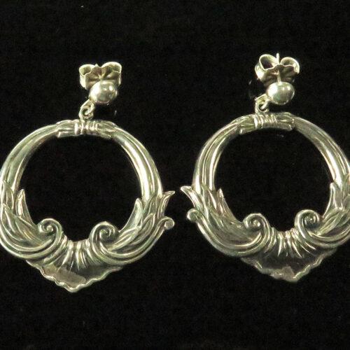 Silver Mexican Earrings