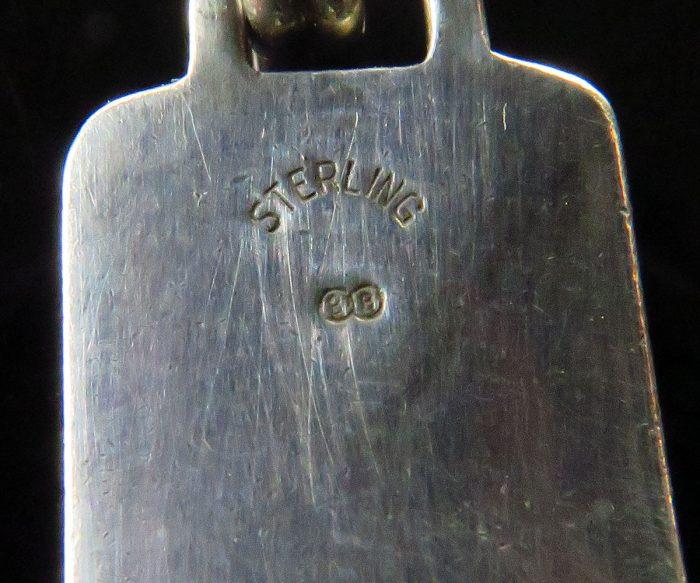 Sterling Bracelet with Rose Panel Links