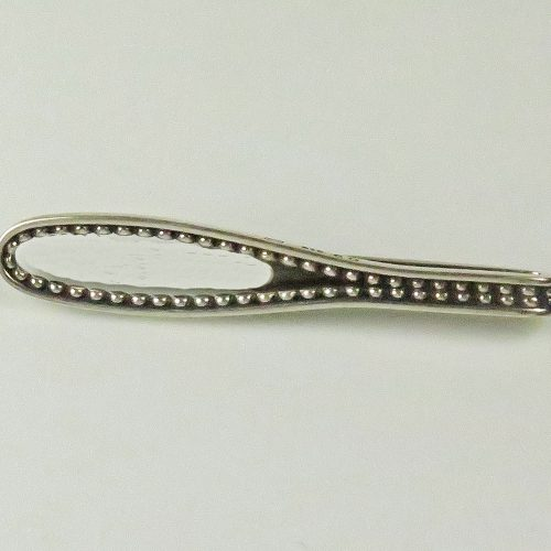 Sterling Georg Jensen Tie Bar