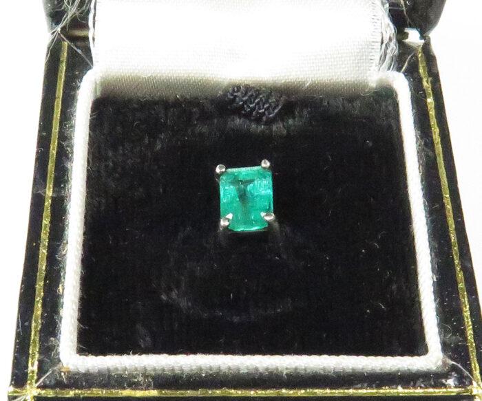 Emerald Tie Tack