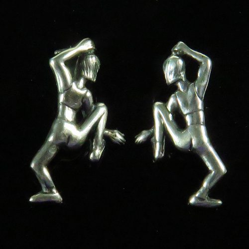 Sterling Dancer Earrings