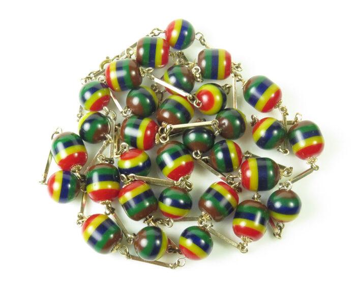 Bakelite Laminated Beads