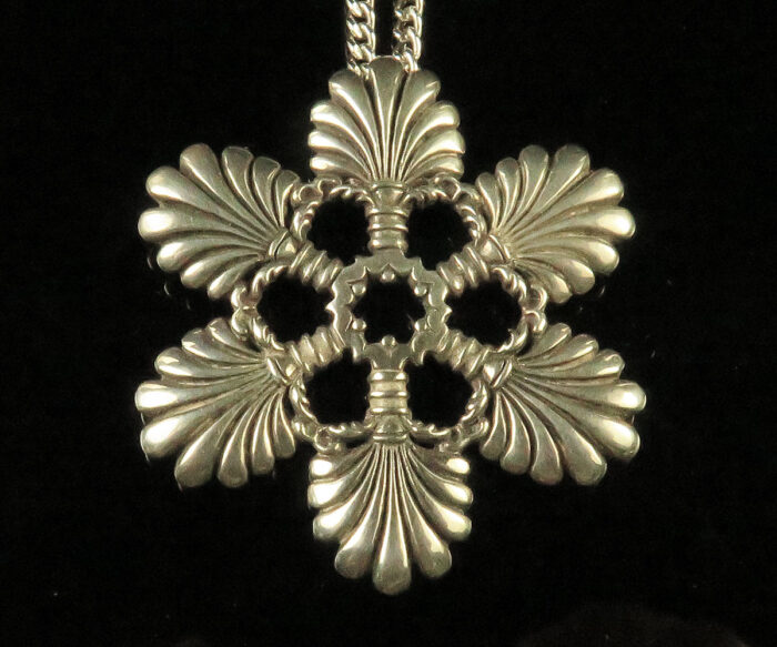 Sterling Snowflake Pendant