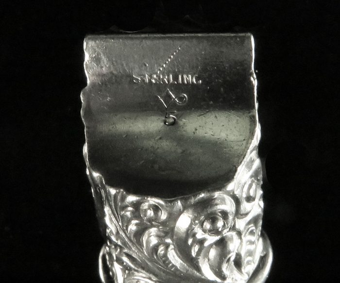 Victorian Sterling Whistle
