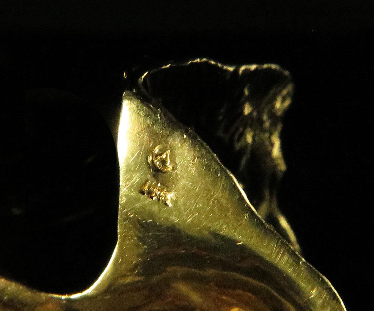 Gold Fox Pin
