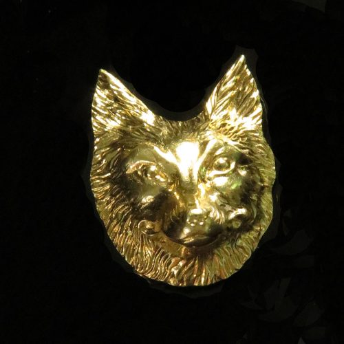 Gold Fox Pin