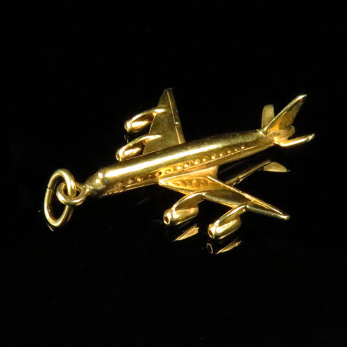 Gold Jet Charm
