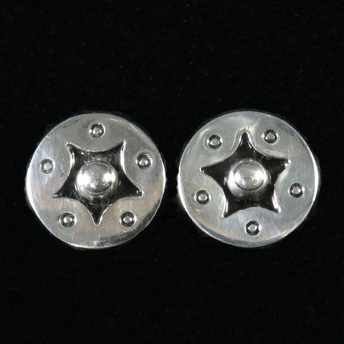 Silver Taxco Earrings