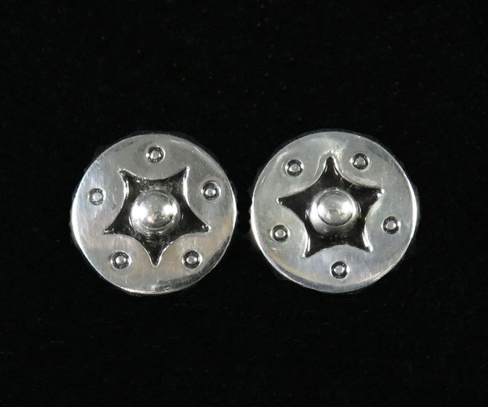 Silver Taxco Earrings