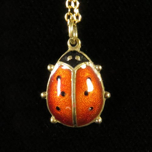 David Andersen Lady Bug Pendant