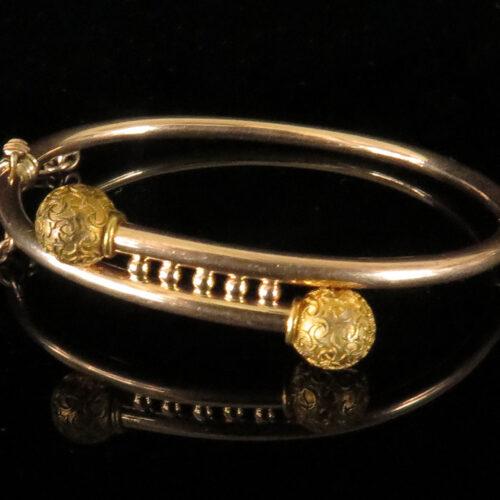 Victorian Gold Baby Bracelet