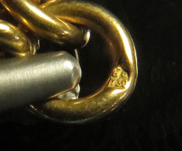 Victorian Gold Fancy Link Muff Chain