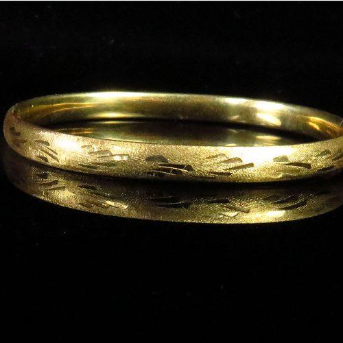 Gold Child's Bracelet