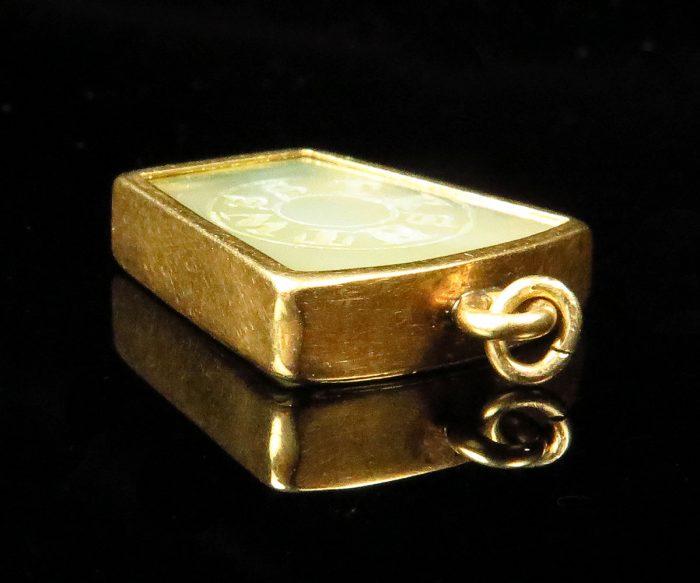 Victorian Gold Masonic Fob