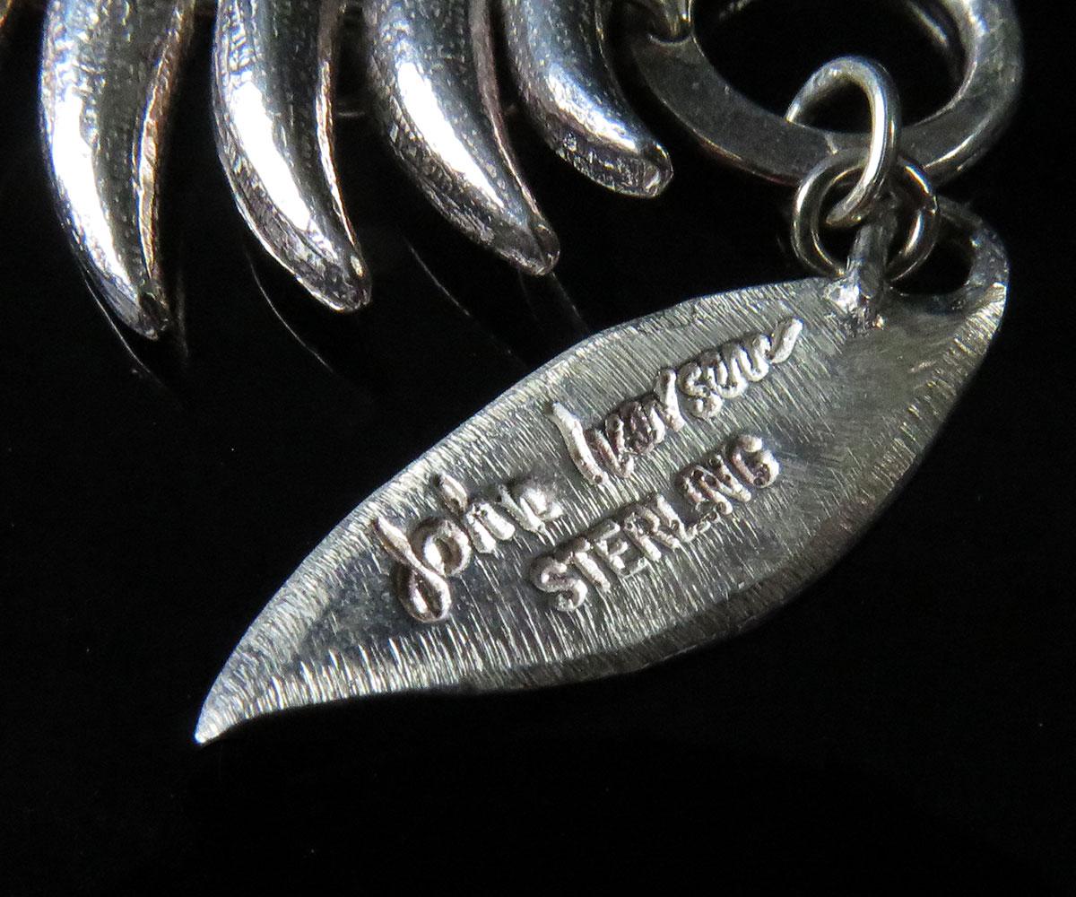 John Iversen Sterling Tower Bracelet
