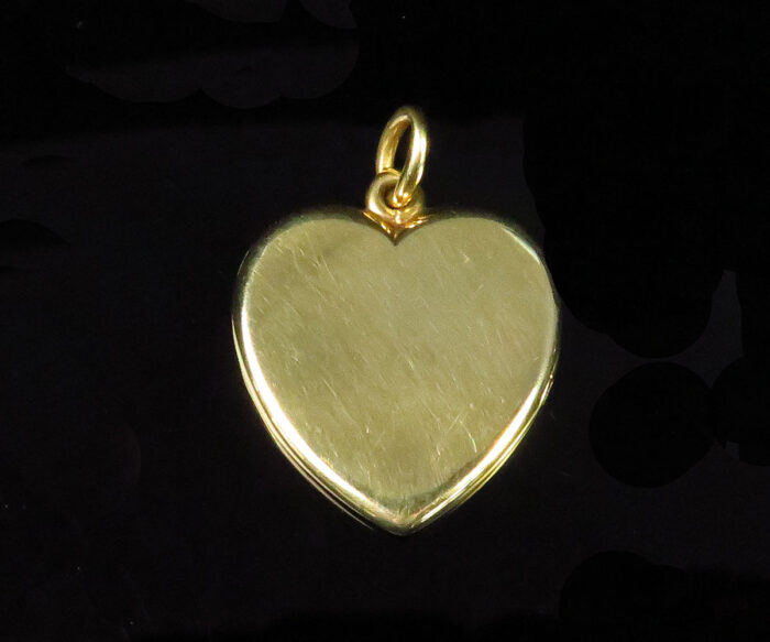 Vintage Gold Heart Locket