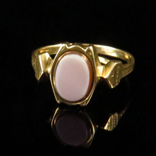 19th Century Gold Austro-Hungarian Sardonyx Ring