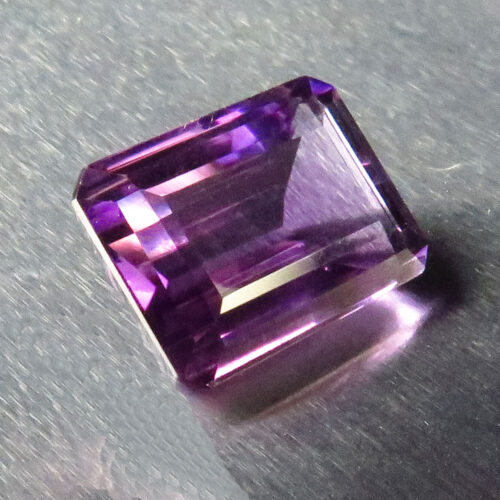 Emerald Cut Amethyst