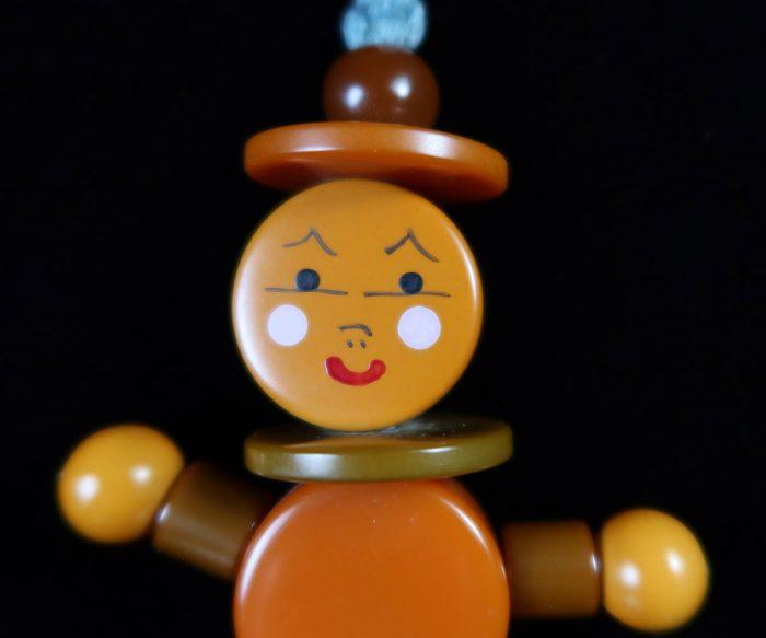 Vintage Bakelite Crib Toy