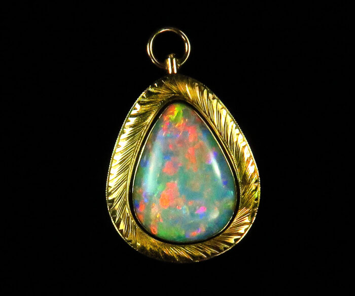 Vintage Gold Opal Pin/Pendant